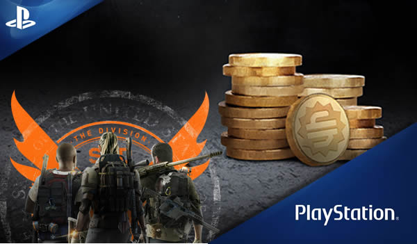 The Division 2 2000 Premium Credits Playstation 15 EUR