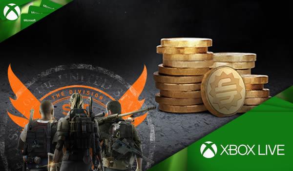 The Division 2 2000 Premium Credits Xbox 15 EUR