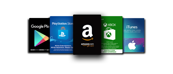 Gift Card - Xbox - Playstation - PC - Smartphone - Android - iOS - Amazon